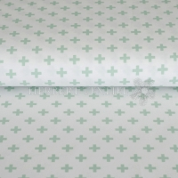 Stenzo Bio-Cotton Jersey cross white mint 2603-10