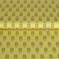 Stenzo Cotton flowers lime 1038-10