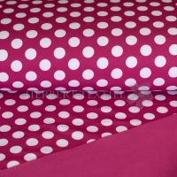 Softshell dots fuchsia/white 126-633-3002