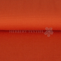 Kiko Waffelpique 0,5cm 100% Cotton orange red 9385-1338