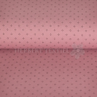 Piqué Polo print dots old pink KC2053-713