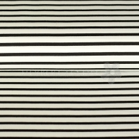 Viscose Jersey Maritime stripes white black 06976-002
