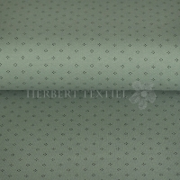 Piqué Polo print dots dusty green KC2053-722