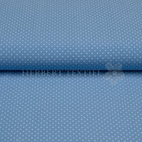 Kiko Cotton dots 0,2 cm blue 0072-105