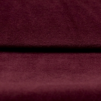 Nicky Velours Uni bordeaux RS0003-219
