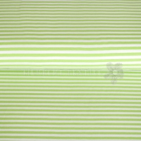 Jersey Streep 0,5 cm lime-white 9645-23