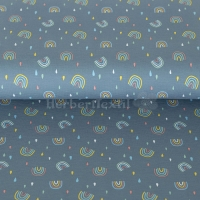 Stenzo Jersey rainbows dusty blue 16607-09