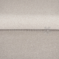 Organic Cotton Fleece Melange taupe OR8001-055