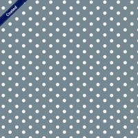 Wachstuch (Coated Cotton) dots grey C4949-013