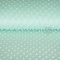 Minky Fleece mint KC4008-022