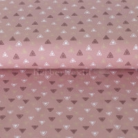 Stenzo Jersey three colours triangles old rose 16615-12