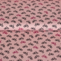 Cotton bicycle pink 01305-006