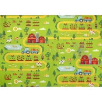 Vilt Filz  farmlife apple green 129784