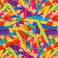 Digital Printing joyful colors pencils 62470