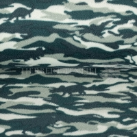 Fleece Camouflage Dino green 07698-001