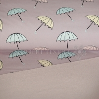 Softshell umbrellas mauve 690041-3003