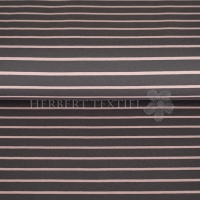 French Terry yarn dyed Sweat stripes grey rose 02097-002