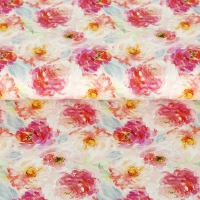 Stenzo cotton digital flower must be light rose 15100-12